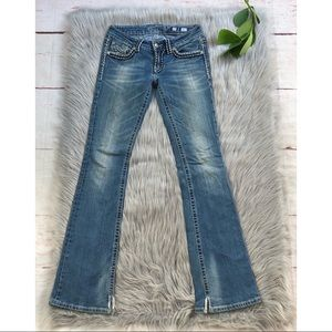 Miss Me Sunny Boot Cut Thick Stitch Jeans 27
